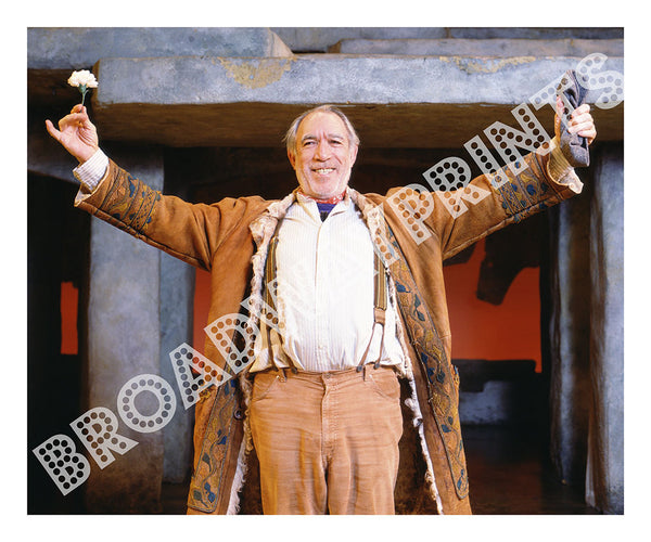 Anthony Quinn - The Broadway Theater in Zorba 1984