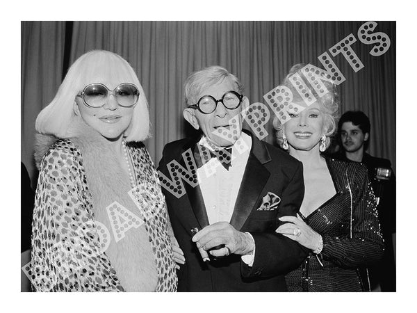 Peggy Lee, George Burns, & Eva Gabor 1996