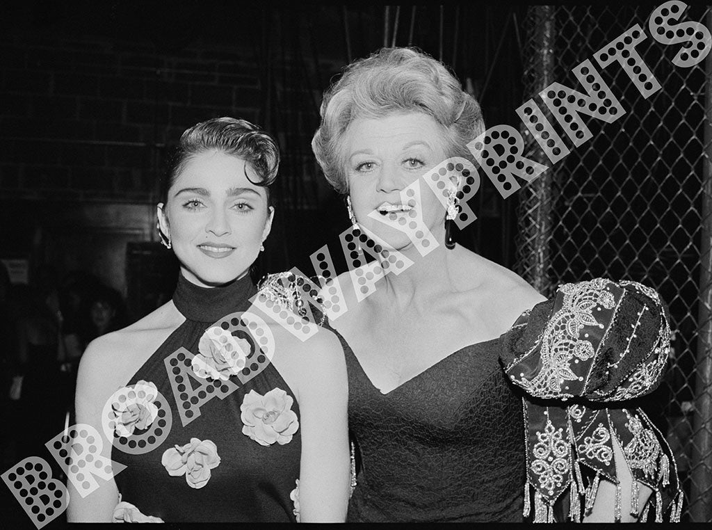Madonna & Angela Landsbury - 1988 Tony Awards