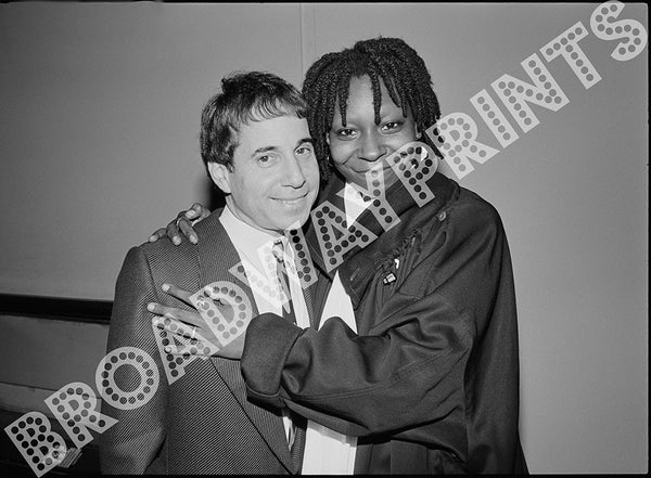 Whoopi and Paul Simon