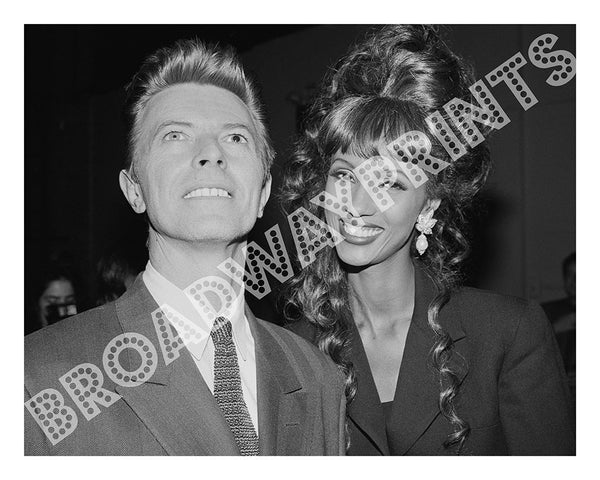 David Bowie & Iman - Brooklyn Academy of Music 1992