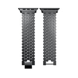 iPM Stainless Steel Octagon Button Apple Watch Band