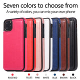 iPM iPhone's 11 PU Leather Purse Protective Case