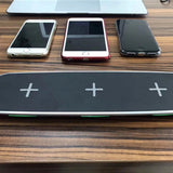 iPM 3 in 1 Wireless Fast Charging Pad with 2 USB Ports