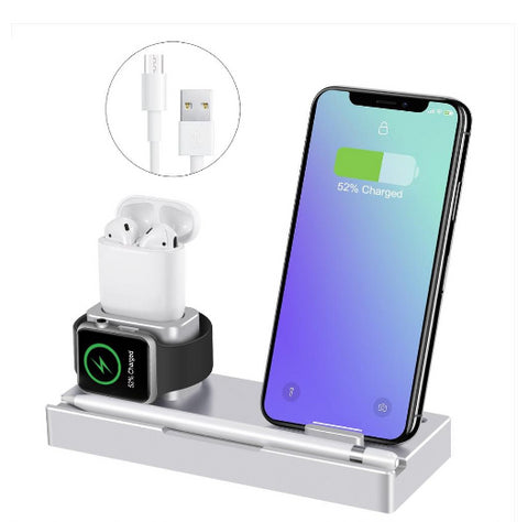 iPM Q106 Wireless Charging Dock With Removable Wireless Charging Pad