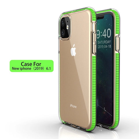 iPM Clear Bumper Case for iPhone 11, 11 Pro, or 11 Pro Max