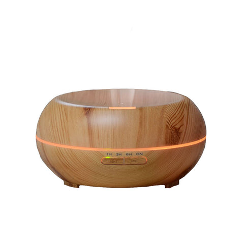 Ipm 200ml Aroma Diffuser Wood Humidifier With Color