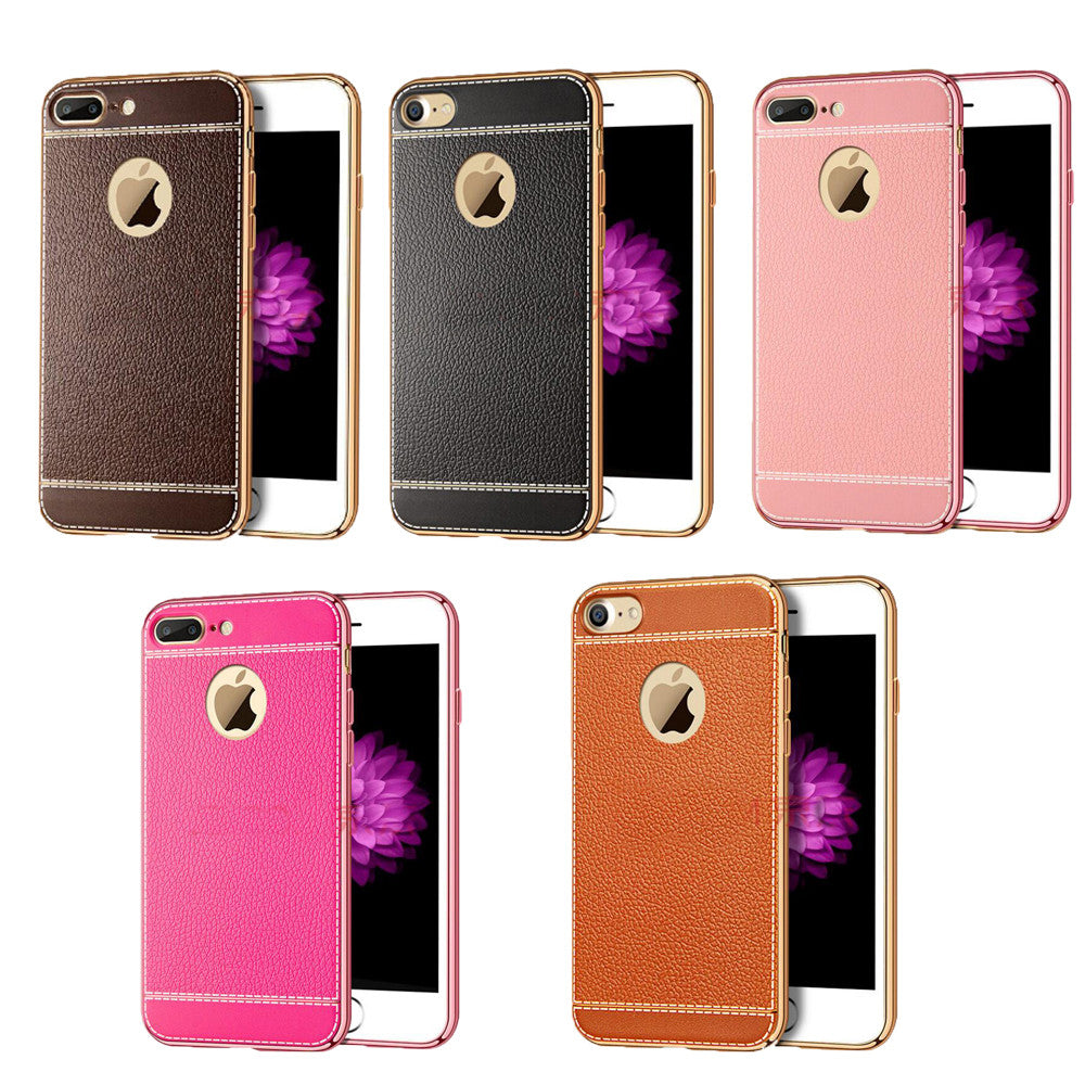 iPM Luxury Soft Bumper Case for iPhone 6/6S/6+/6S+/7/7+/8/8+