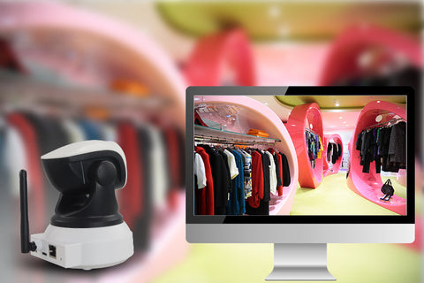 Ipm 720p Hd Ip Camera With Wifi Network Night Vision