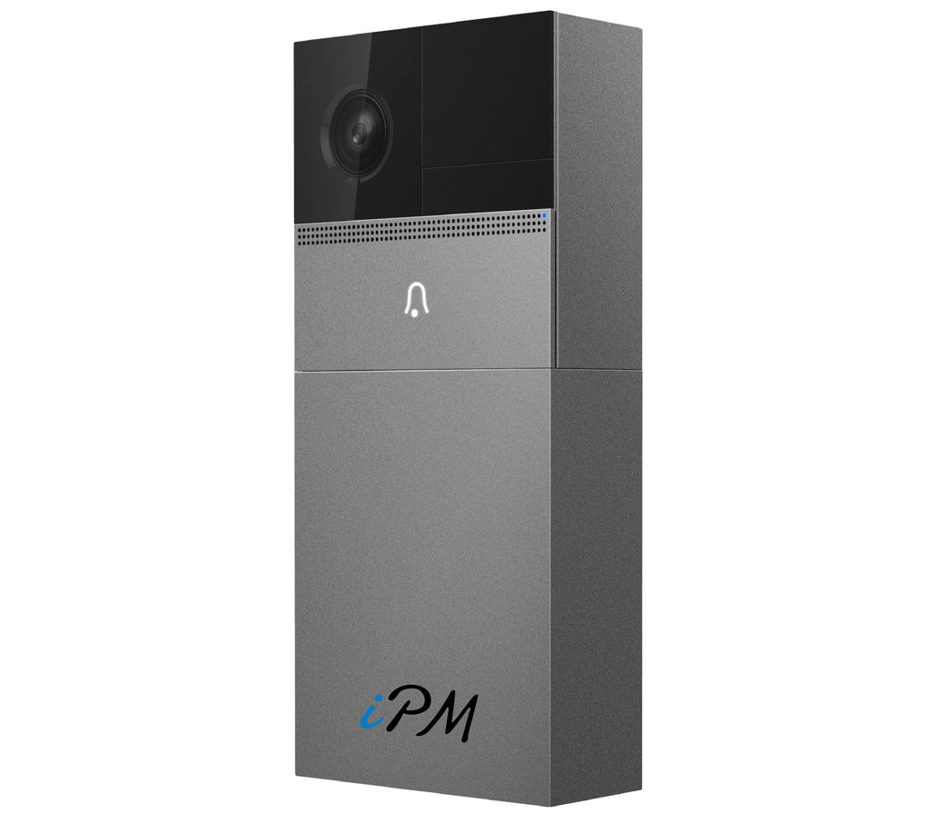 iPM WD10 WiFi Original Design Waterproof Smart Doorbell With Chime - No Wires Required!