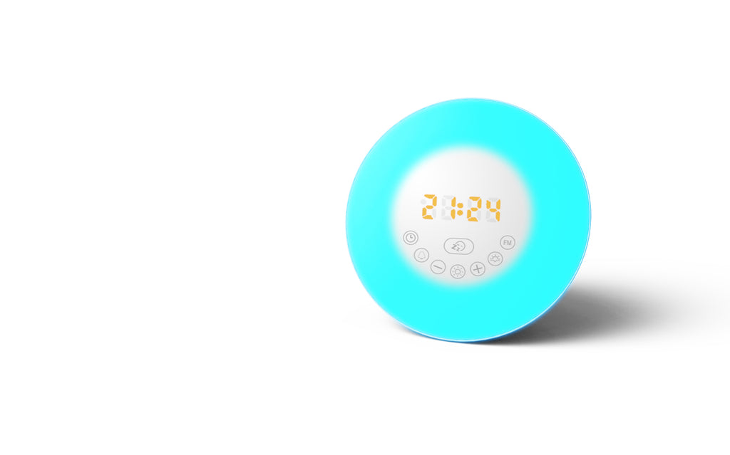 IPM 6640C Wake up Light Bluetooth Speaker Alarm Clock