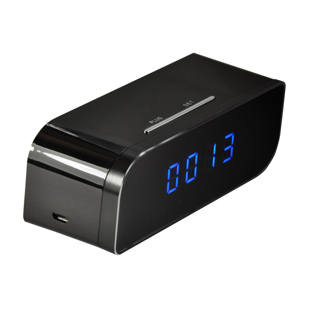 iPM 720P Battery Powered Desk Clock - with WiFi & Hidden Camera