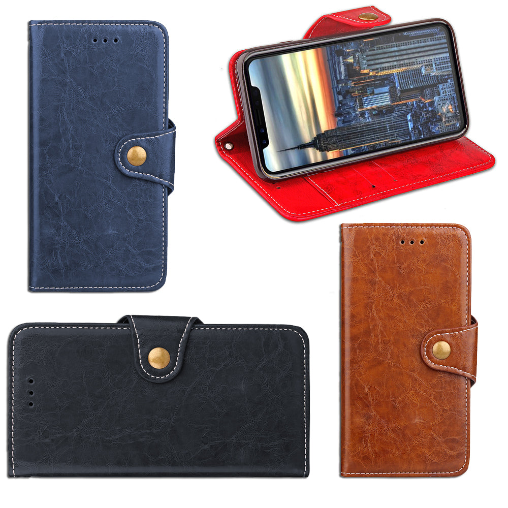 iPM iPhone 7/7+/8/8+ Leather Wallet Case