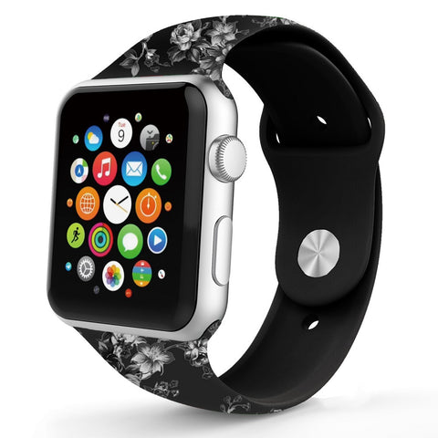 iPM WA17D Soft Silicone Replacement Band For Apple Watch