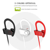 PowerBuds Wireless Running Sport Earphones with Ear-Hook and Mic
