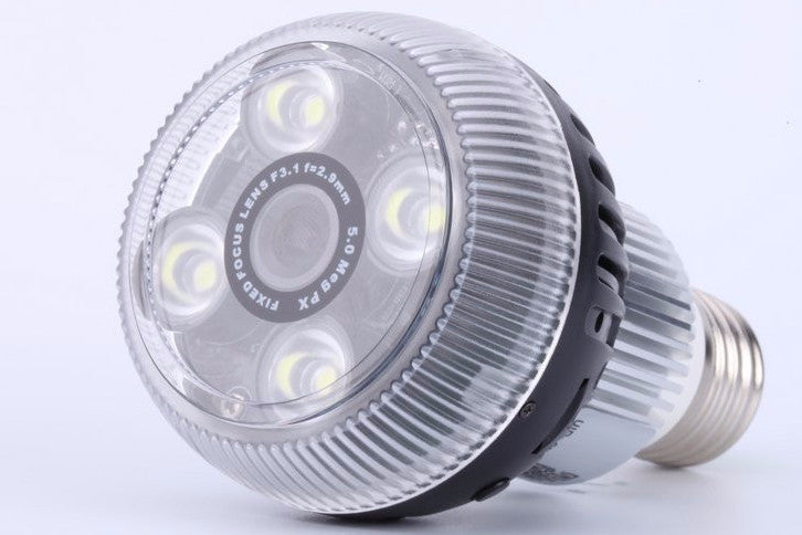 iPM 720P LED Bulb with Hidden Camera