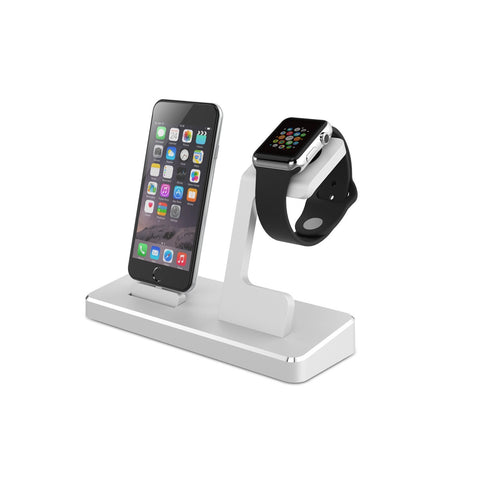 iPM Apple Watch & iPhone Aluminum Dual Charging Station With 2 USB Ports