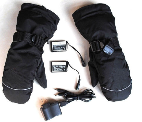 iPM Outdoor USB Heated Winter Gloves with Battery Power