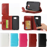 IPM Credit Card Holder Flip Wallet Case for Samsung Galaxy S6 G9200
