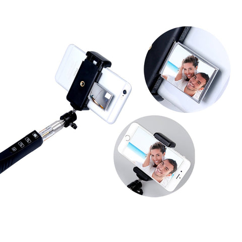 iPM ICE908 Bluetooth Selfie Monopod Stick With Mirror!