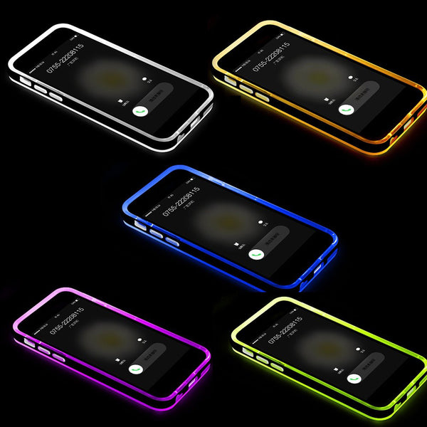 iPM LED Flash Light-Up Notification Case For iPhone 5 5S – theipmstore.com 3268089867ac