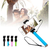 iPM Pen Size Mini Selfie Stick With Mirror