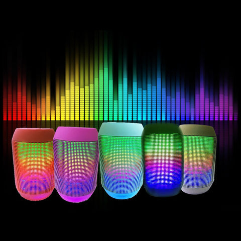 iPM Pump It Up LED Light Up Bluetooth Speaker