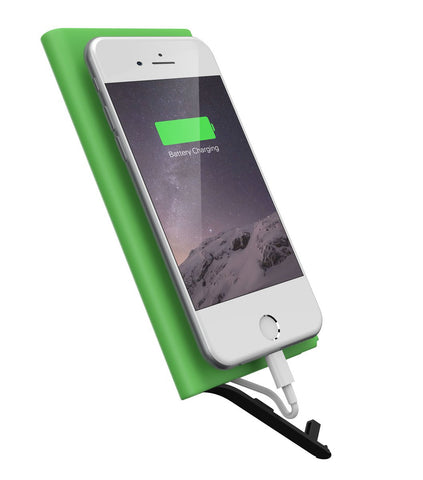 iPM 6000mAh Ultra-slim Power Bank With Built-in MFI Lightning Cable