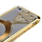 iPM Diamond Ring Rhinestone Luxury Protective Case for iPhone 6/6+