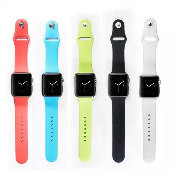 iPM Soft Silicone Replacement Sports Band For Apple Watch – theipmstore.com