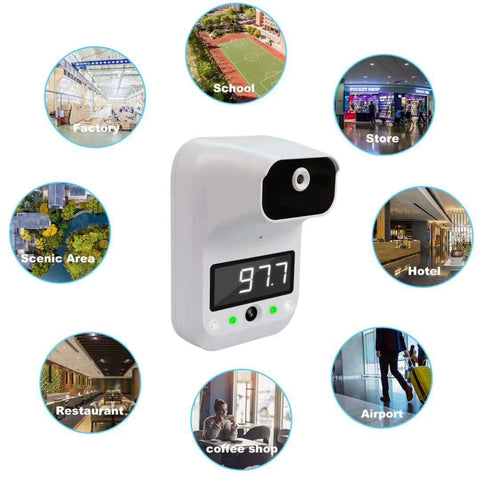 iPM Wall Mounted No Contact Infrared Photo Thermometer
