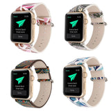 iPM Vintage Leather Replacement Band for Apple Watch