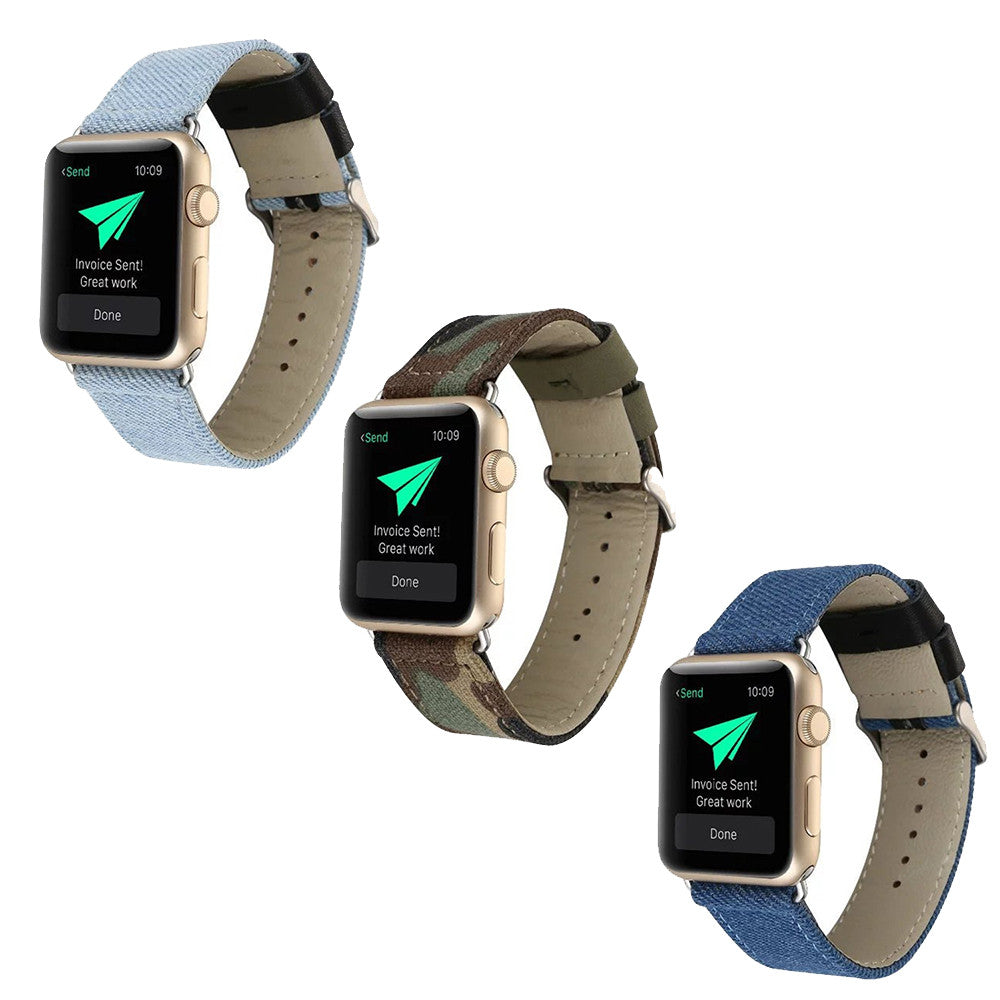 iPM Canvas Replacement Band for Apple Watch
