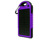 iPM 5,000 mAh Solar Powered Flash Charger For Smartphones