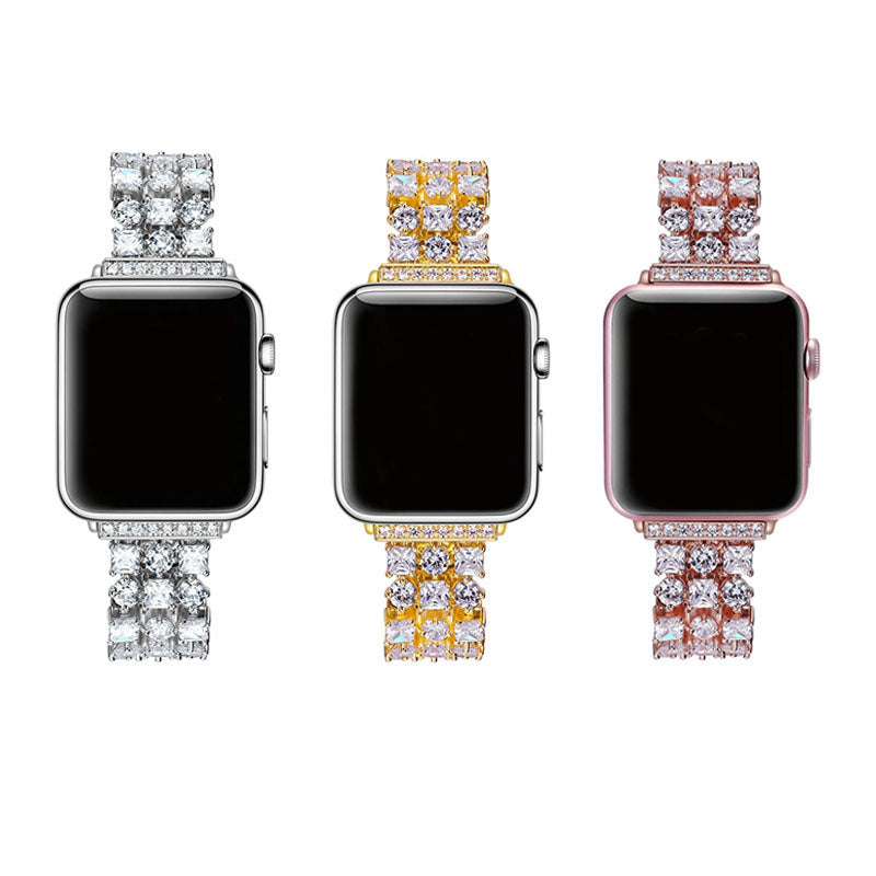 iPM Rhinestone Link Band for Apple Watch