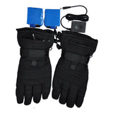 iPM Black Winter Warm Outdoor Heated Gloves with 3 Levels