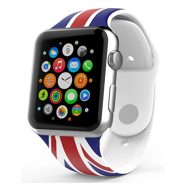 Ipm Soft Silicone Flag Band For Apple Watch Theipmstore Com
