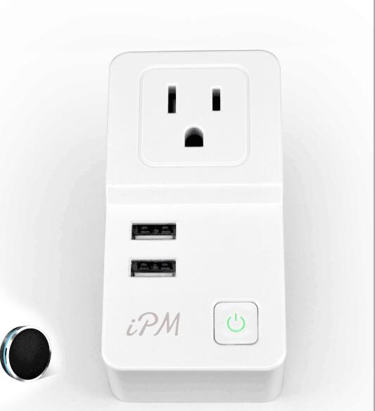 iPM Smart Home Socket - with WiFi, Compatible with Amazon's Alexa & Google Home