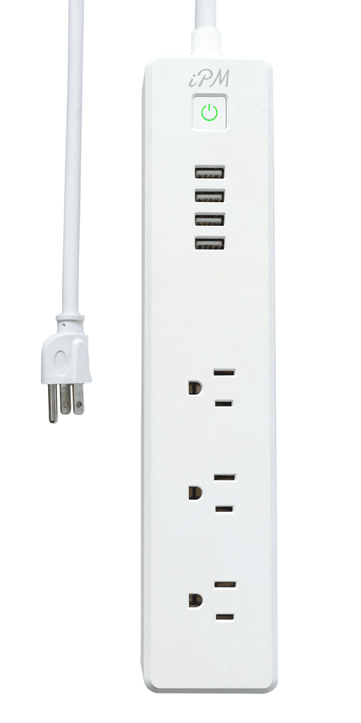 iPM Smart Home Power Strip - with WiFi, Compatible with Amazon's Alexa & Google Home