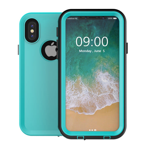 best service 70e3a 9a2dc iPM iPhone X Waterproof Protective Case (iPhone 8/8+/X)