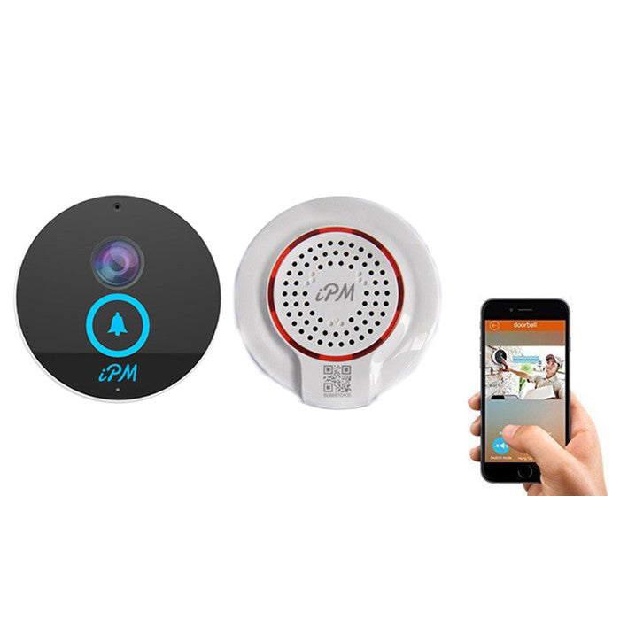 iPM iDoorbell Wi-Fi Video Waterproof With HD IP Camera, Doorbell Speaker