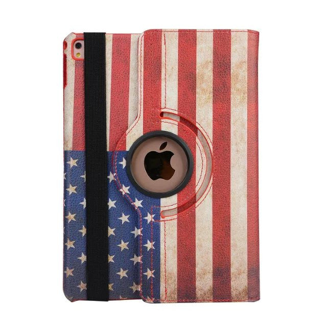 iPM 360-Degree Rotary Stand Leather Case for iPad