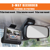 IPM K20 3 Camera Car Dash Cam