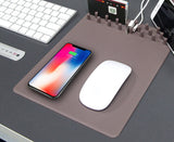 iPM Qi Wireless Charging Mouse Pad Organizer