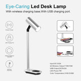 iPM LED Desk Lamp with Qi Wireless Charging Dock