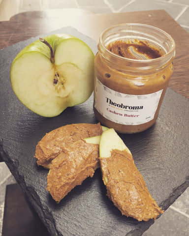Vegan nut butter at Theobroma a raw cacao collective
