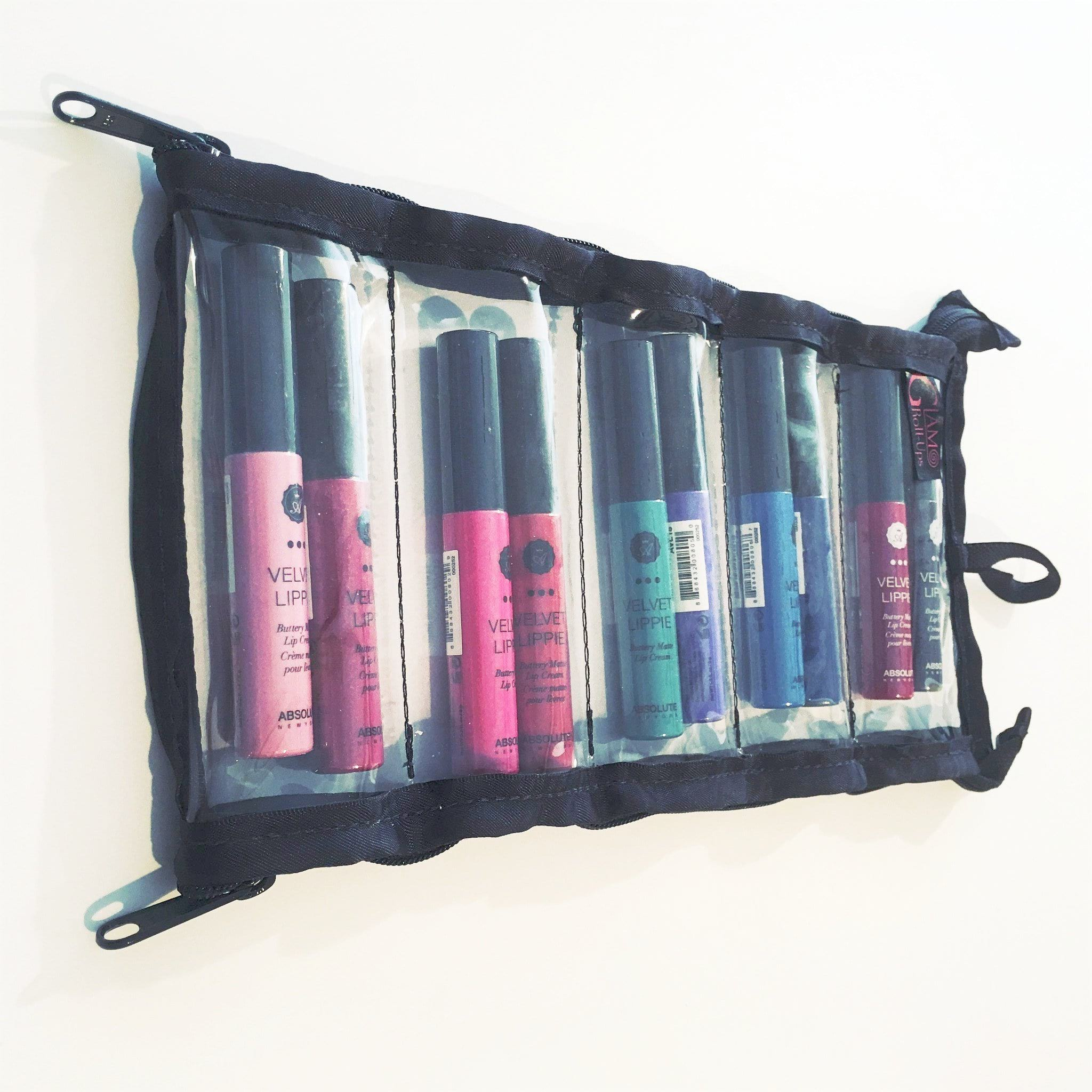 Weekender - Lipstick, Nail Polish, or Barrette Organizer - Glam Roll-Ups