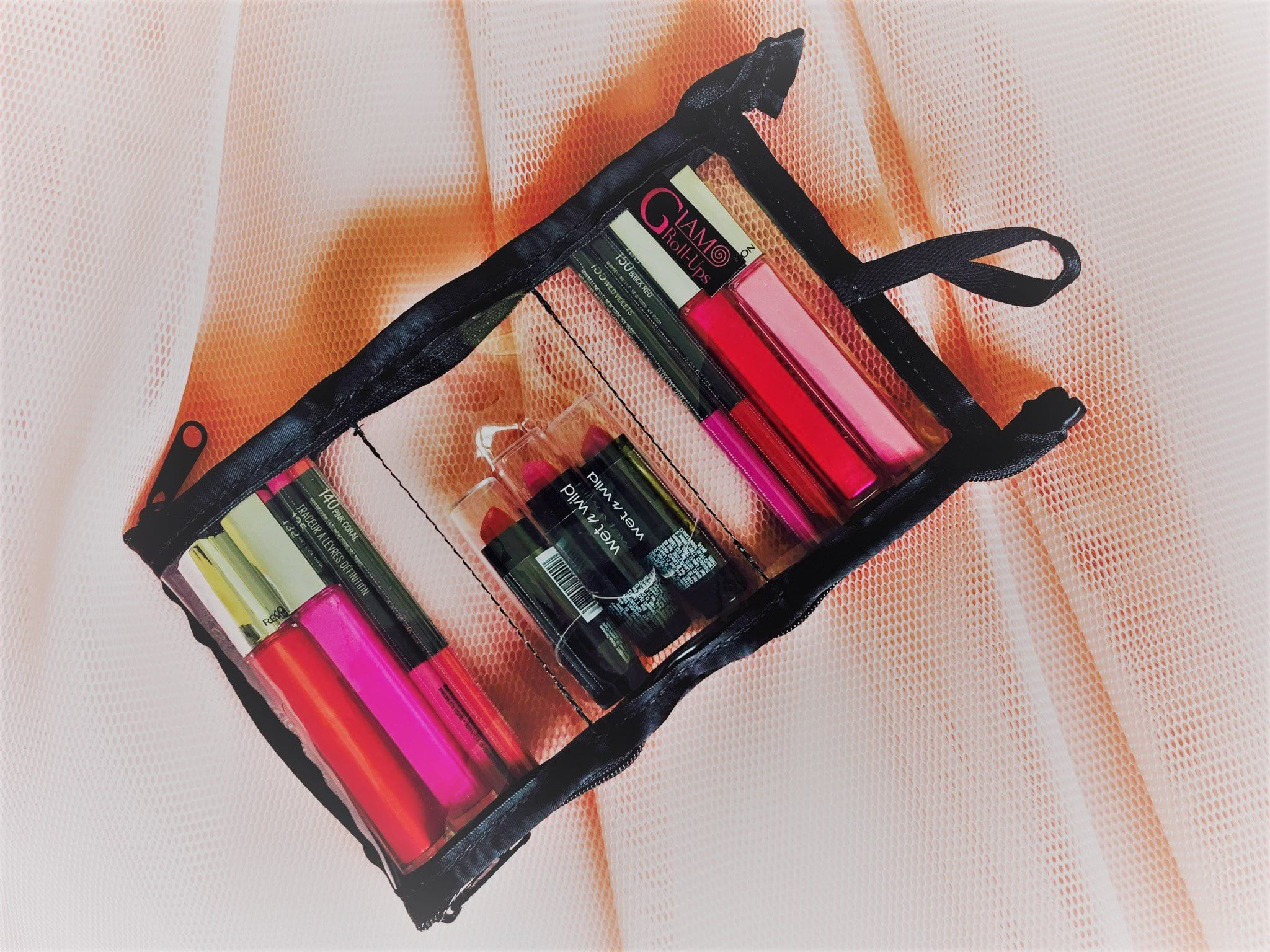 Mini - Makeup Organizer - Glam Roll-Ups