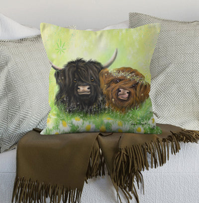 """I Moo"" Scatter Cushion"