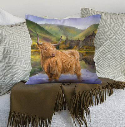 "NEW ""The Guardian of Loch Awe"" Cushion"